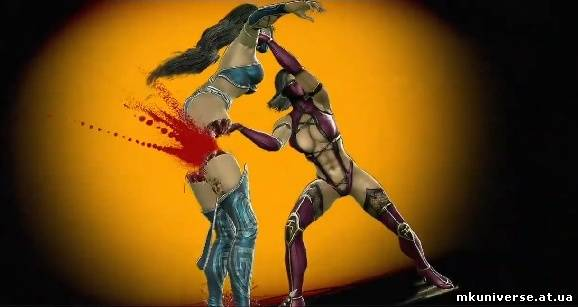 Mortal kombat mileena fatality gif